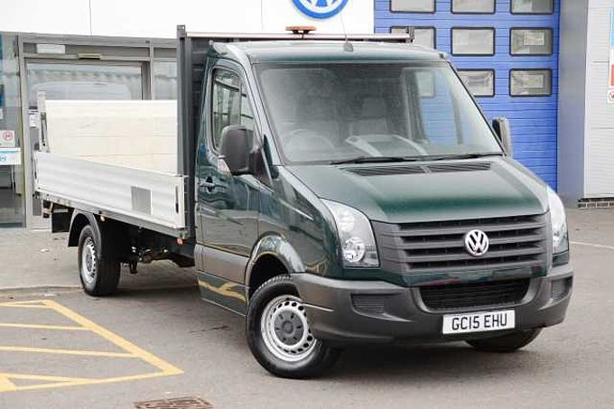 Volkswagen Crafter 2.0TDi (109PS) CR35 LWB Dropside