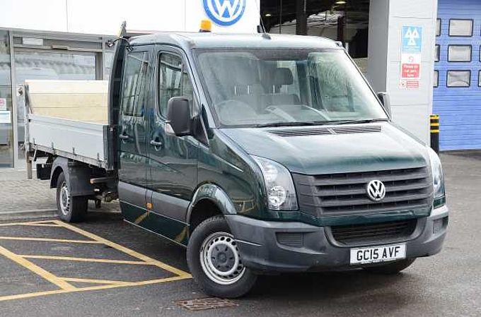 Volkswagen Crafter 2.0TDi (109PS) CR35 LWB Double Cab Dropside